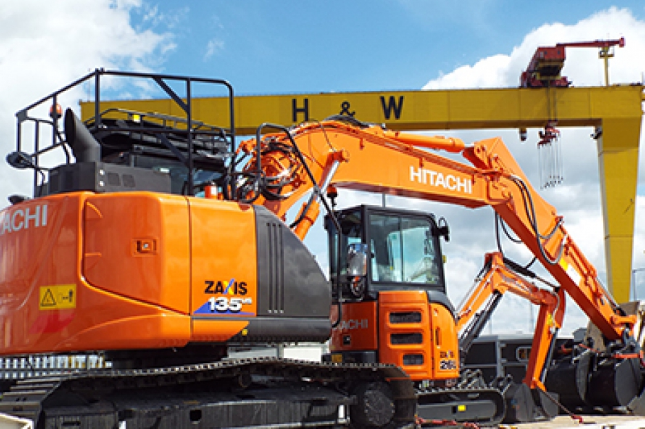big and small digger hire belfast