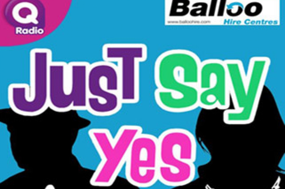 Balloo Hire sponsors just say YES on Q Radio!