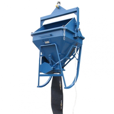1000ltr Concrete Funnel Skip Hire