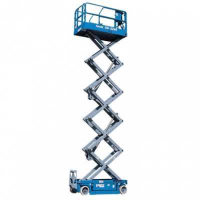 11.8m Electric Scissor Lift Hire