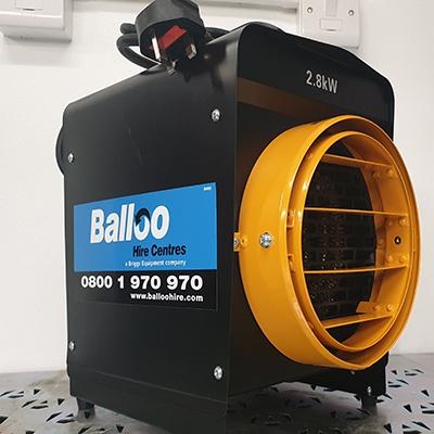 2.8kW Industrial Fan Heater Hire