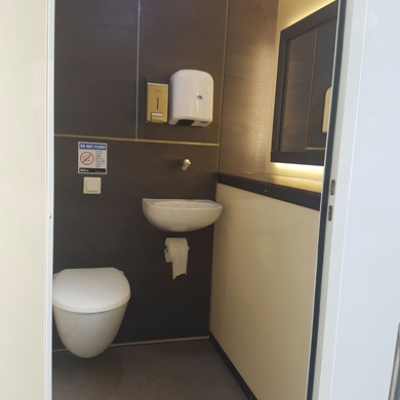 2 Way VIP Toilet Unit Hire
