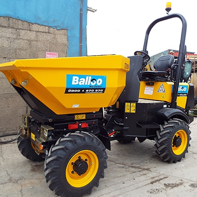 2Ton High Tip Swivel Dumper Hire