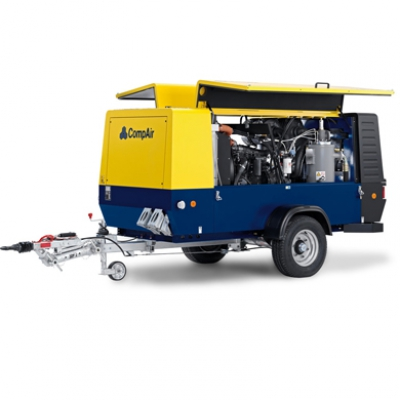 300-400cfm Compressor Hire