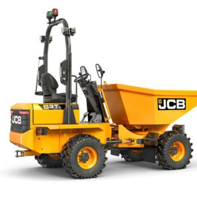 3Ton Forward Tip Dumper Hire