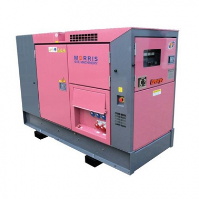 60kVA Ultra Silent Towable Generator Hire