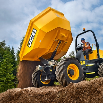 6Ton Swivel Tip Dumper Hire