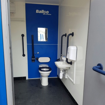 Disabled Toilet and Shower Block For Hire