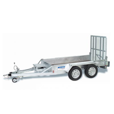 Double Axle Plant Trailer 2700kg Hire