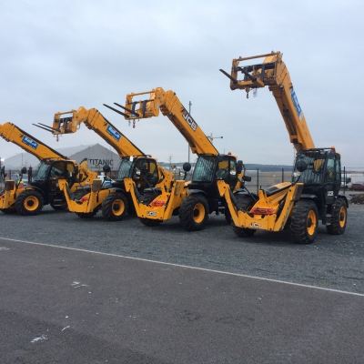 18m Telescopic Handler Hire