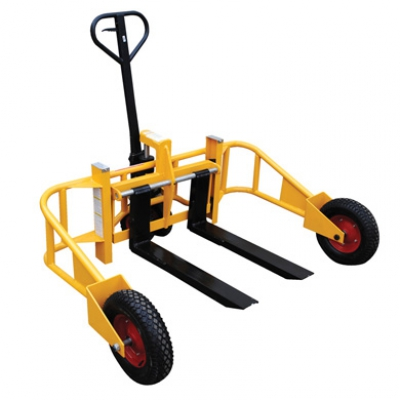 Rough Terrain Pallet Truck Hire