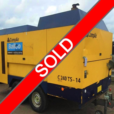 SOLD 850cfm Compair Compressor