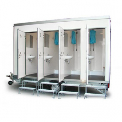 Shower Block Hire