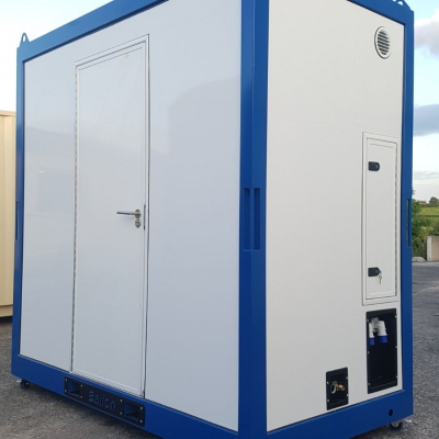 mini shower room external