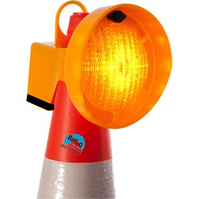 Traffic Cone Flashing Light Hire