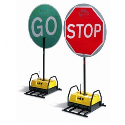 Remote Control Stop/Go Boards