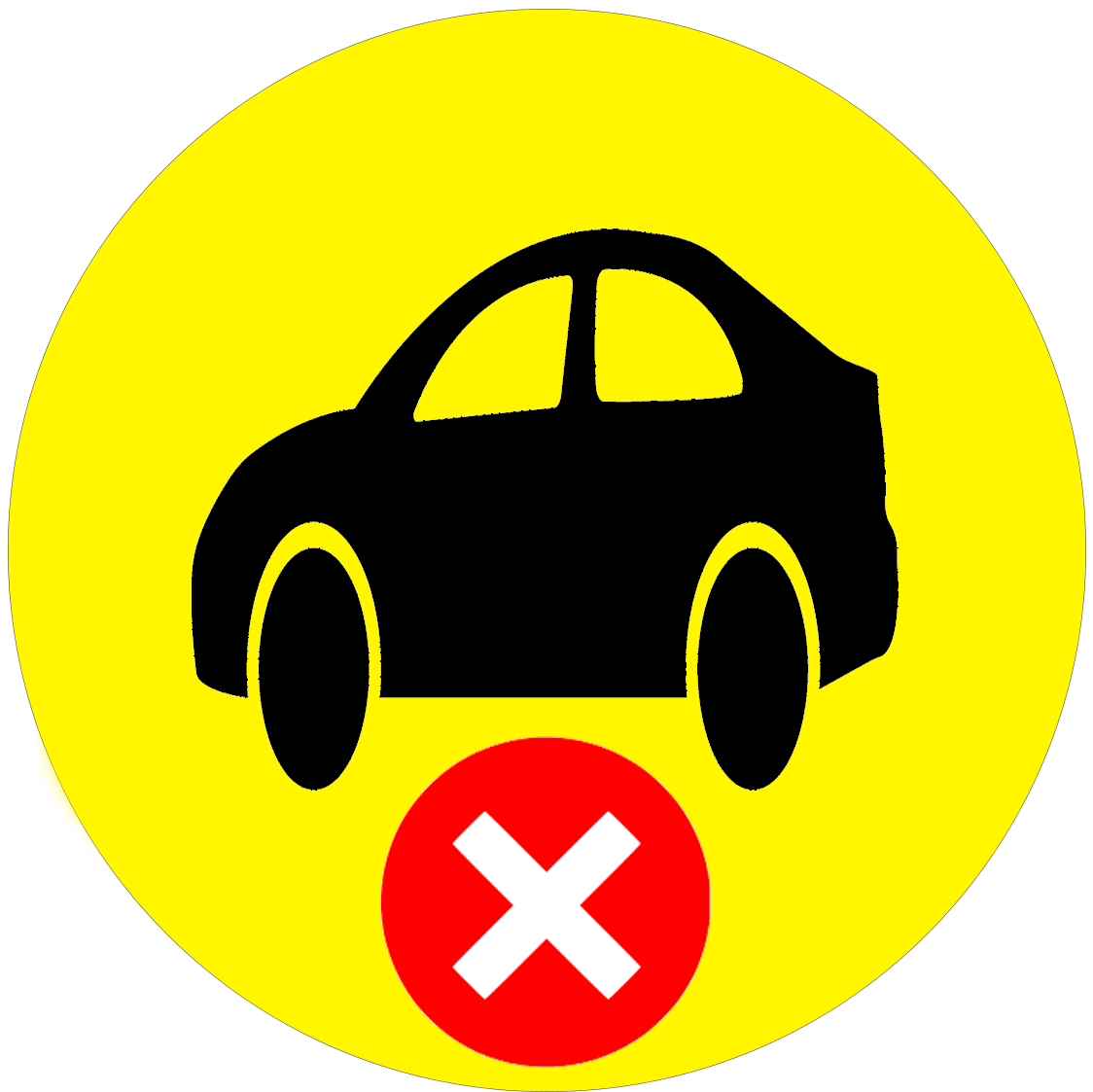 Car No icon