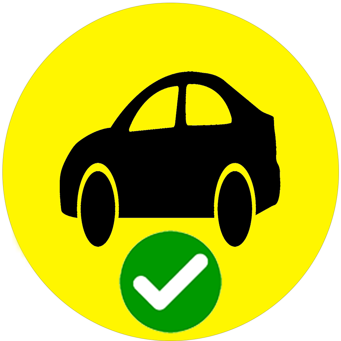 Car YES icon