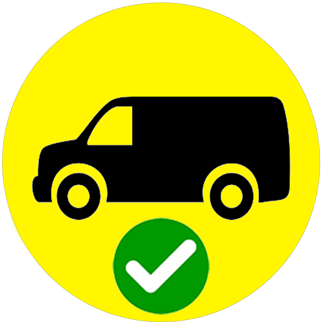 Van Delivery YES icon