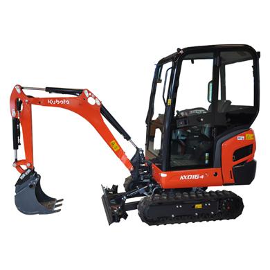 1.5Ton Excavator Hire