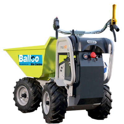 all electric dumper